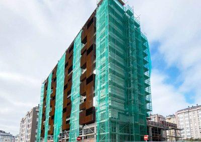 Edificio 32 viviendas Augas Ferreas