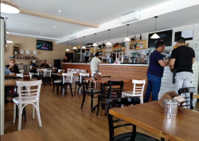 Reforma cafetería Avenida- Ares