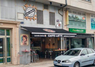 Reforma cafetería Caffe Latte, La Gándara – Narón