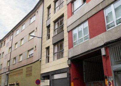 Edificio 4 viviendas Rúa Xesta_ Lugo